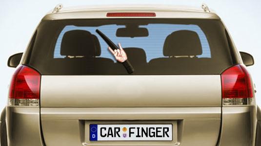 Scheibenwischer Autozubehör für das Festival