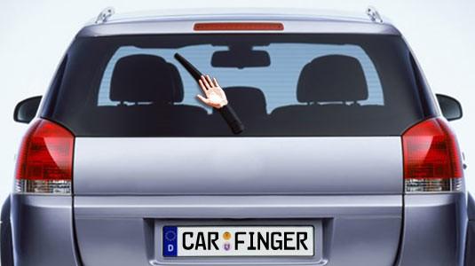 lustiges und spaßiges Auto Zubehör für langweilige Autofahrten